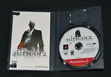 Hitman 2: Silent Assassin (PS2, Greatest Hits, 2003) Complete (Game+Case+Manual)