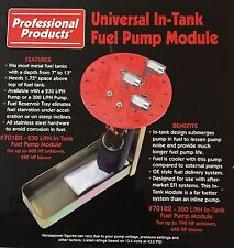 Professional Products Universal In-Tank Fuel Pump Module 70182