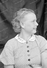 Negativ-Portrait-1920 /1930 er Jahre-Happy-Cute Girl-Frau-Mädel-mode-11
