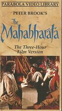 THE MAHABHARATA PART ONE OF THREE (VHS TAPE) RARE OOP FREE SHIPPING