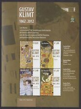 SAN MARINO 2012 Foglietto Gustav Klimt MNH**
