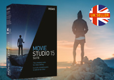 New VEGAS Movie Studio 15 Suite Boxed DVD Take your video to the next level