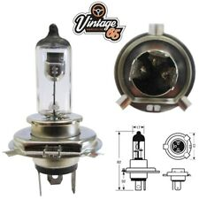 Classic Car Bike Scooter Halogen Headlight Bulb Upgrade 12v 100/80W H4 P43T 484