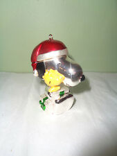 Lenox - Snoopy's Christmas Surprise - Woodstock - Holiday Ornament - Peanuts