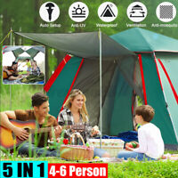 Automatic Open Camping  Coated Anti-UV Large Space Waterproof Outdoor  z z