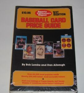 1987 SPORTS COLLECTORS DIGEST SCD BASEBALL CARD PRICE GUIDE 1ST EDITION NEW
