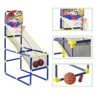 Indoor Basketball Hoop Arcade Game Room Kids Goals Ball pump Family
