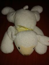 TY Pillow Pals Baba White Sheep 1996 Plush With Tag