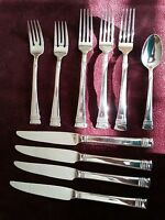 10 Pc.  Flatware,  Gibson Stainless from China