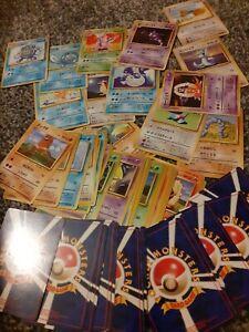 Japanese near Complete Base Set Pokemon Cards Bundle Original Pocket Monsters