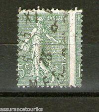 SEMEUSE 15c. vert - PIQUAGE À CHEVAL - 1903 YT 130