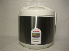 10-Cups Stainless Steel Rice Cooker (CR-100B)