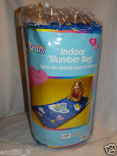 New With Tag Care Bears 2003 Indoor Slumber Bag Sleeping Bag