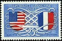 "FRANCE TIMBRE STAMP N°840 ""AMITIE FRANCO-AMERICAINE"" NEUF X TB"
