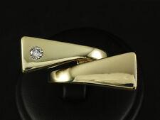 Unikat Großer Designer Brillant Ring  14,7g 585/- Gelbgold