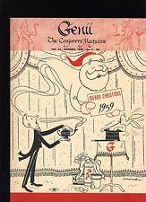 C.E. Blair Feature Genii Magicians Magazine Dec1959 - contents in post