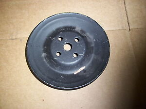 USED ORIGINAL 1967 SHELBY GT500 SMOG PUMP PULLEY