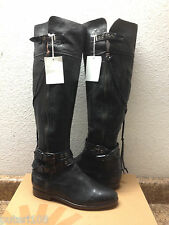 UGG COLLECTION NICOLETTA TALL BLACK OVER THE KNEE BOOTS US 7 / EU 38 / UK 5.5