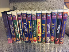 Disney Masterpiece Collection VHS Lot Of 13