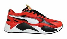 Puma RS-X3 CNY Red Black White Low Lace Up Mens Running Trainers 373178 01