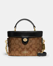 NWT COACH 78277 KAY CROSSBODY IN SIGNATURE CANVAS 100% AUTHENTIC