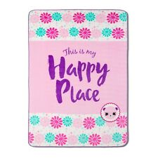 Shopkins® Happy Places Pink Bed Blanket (Twin)