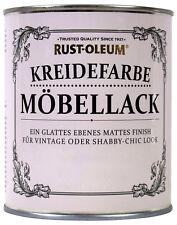 Rust Oleum Kreidefarbe Kalkweiss 750ml BEULE Möbellack Shabby Chic