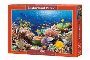 Castorland C-101511 Puzzle Coral Reef Fishes Korallenriff Fische 1000 Teile
