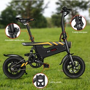 T18 Electric Bike Power Assist Bicycle E-Bike 42V 350W 25km/h 12Inch UK