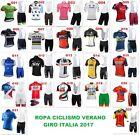 Ropa ciclismo Giro Italia 2017 corta verano cycling maillot jersey ropa maglie