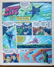 Beyond Mars by Jack Williamson - Army Times full tab Sunday page - June 27, 1954