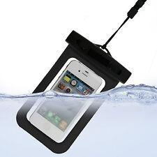 Imperméable Sous L'eau Étui Coque Poche Étanche Pochette Pour Téléphone Portable