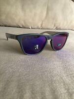 New Oakley Frogskins XS OJ9006 Matte Carbon Grey/Red Iridium Youth Sunglasses