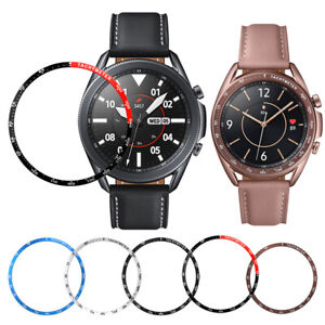 For Samsung Galaxy Watch 3 Metal Bezel Protector Steel Ring Case Gear Ring Cover
