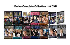 Dallas Complete Collection 1-14 DVD All Seasons Original UK Release R2 Brand New