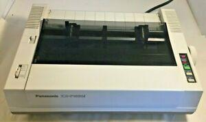 Vintage Panasonic Dot Matrix Printer For Commodore KX-P1080i Working