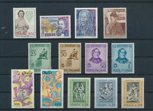 LO15292 Italy famous composers music fine lot MNH