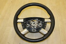 GENUINE FORD FOCUS MK2 LEATHER STEERING WHEEL & SPEED CONTROL 2005 - 2008