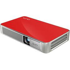 Vivitek Qumi Q3 Plus 500 Lumen Ultra HD 720p Pocket DLP Projector with Wi-Fi Red