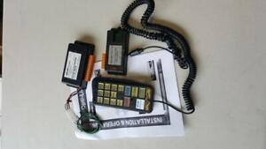 Woodway Optilink Mk4 control system/switch panel Whelen lightbars beacons LEDs