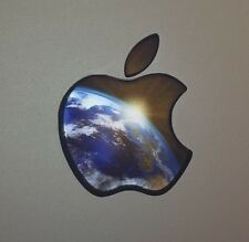 GLOWING PLANET EARTH Apple MacBook Pro Air Mac Laptop Logo Sticker DECAL