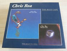 COFFRET 2 CD ALBUMS THE BLUE CAFE THE ROAD TO HELL CHRIS REA 22 TITRES 1998 NEUF