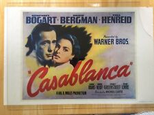 Gone with the Wind, Wizard of Oz, & Casablanca Movie Posters