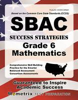 SBAC Success Strategies Grade 6 Mathematics Study Guide
