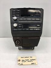 2000-2001 INFINITI I30 CLIMATE CONTROL STEREO RADIO CD DISC PLAYER NAV