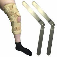 Solace Orthopaedic Breathable Long Hinged Patella Stabilising Knee Support Brace