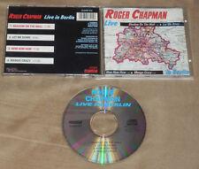 ROGER CHAPMAN Live in Berlin CD 1989/1992 Original Castle Classics MIKE OLDFIELD