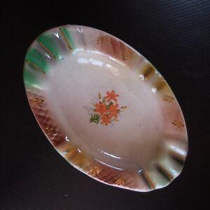 Cendrier vide-poche céramique faïence vintage art déco Brésil Portugal N7422
