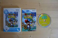 Wii - Mario Power Tennis - (OVP, mit Anleitung)