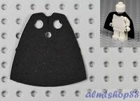 LEGO - Minifigure Cloth Cape Black - Custom Fabric Robe Harry Potter Jedi Sith